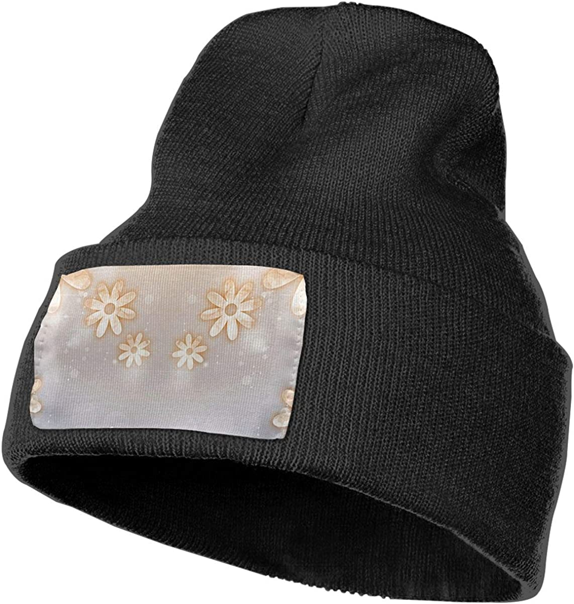 Ruin Flowers Fashion Knitting Hat for Men Women 100/% Acrylic Acid Mas Beanie Hat