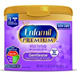Enfamil PREMIUM Non-GMO Gentlease Infant Formula, Powder, 21.5 Ounce Reusable Tub