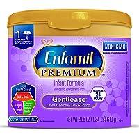 Enfamil PREMIUM Gentlease, Milk-Based Formula, for Fussiness, Gas, and Crying, Powder, 21.5 oz Tub
