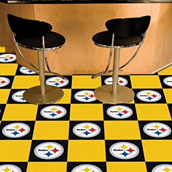 Pittsburgh Steelers Carpet Tiles Amazoncom - Discount tile pittsburgh