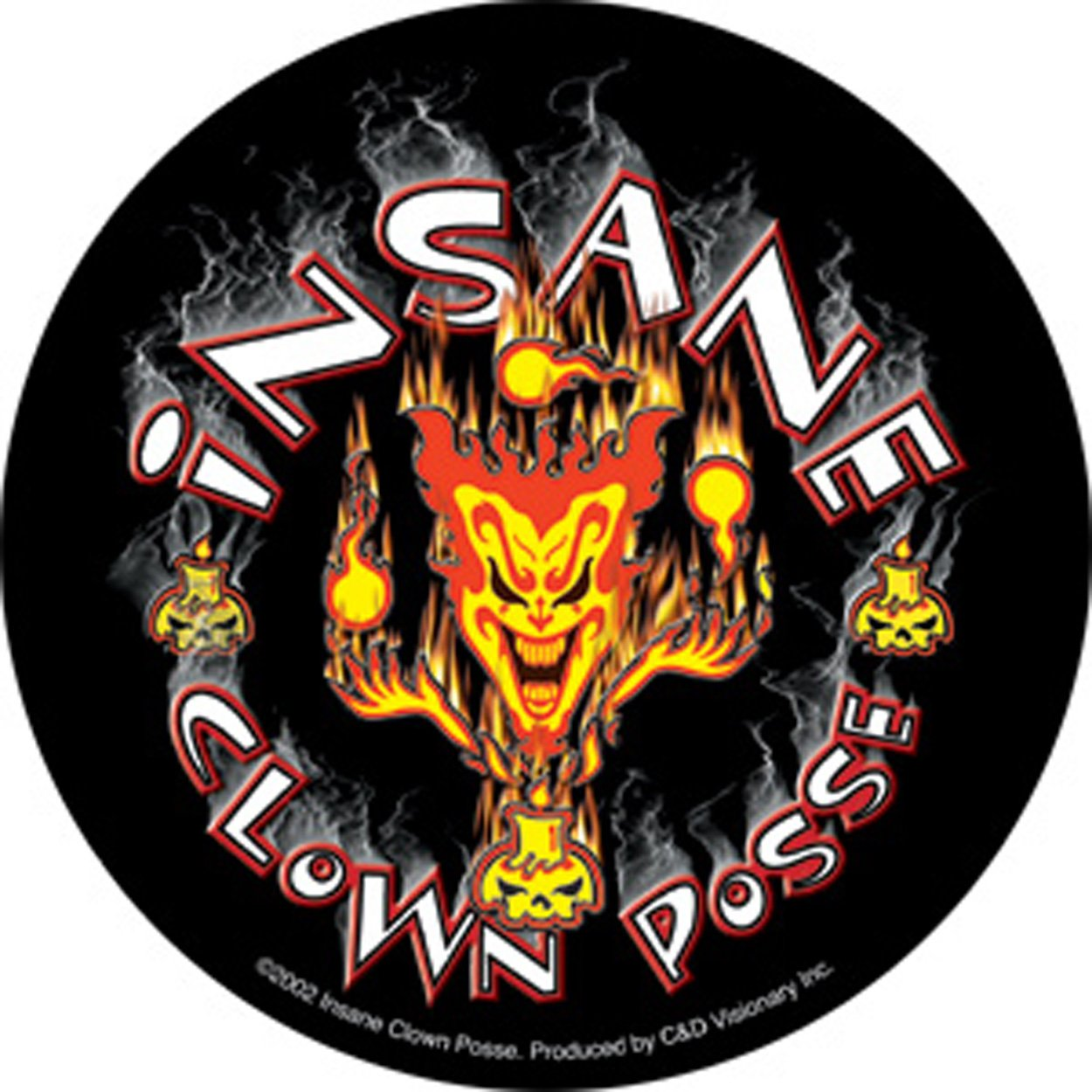 S-1771 Licenses Products Insane Posse Clown Sticker C/&D Visionary Inc