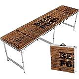 Original Cup - Mesa Oficial de Beer Pong, Cerveza, 240 x 60 x 70 cm, Resistente a los Arañazos, Estable, Ligero, para…