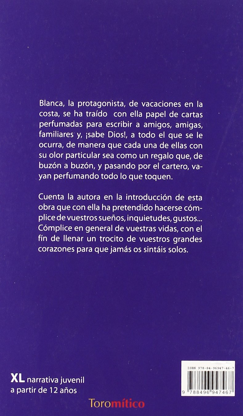 Cartas perfumadas de una adolescente: 9788496947467: Amazon ...