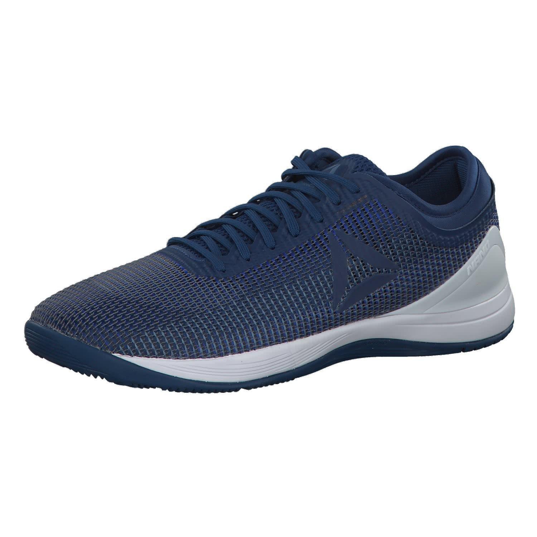 Reebok R Crossfit Nano 8.0, Zapatillas de Deporte Unisex Adulto, Azul Bunker Vital Blue Slate/Spirit Wht, 38.5 EU: Amazon.es: Zapatos y complementos