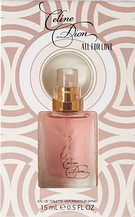 Celine Dion todos los para love eau de toilette spray para ella, 15 ml: Amazon.es: Belleza