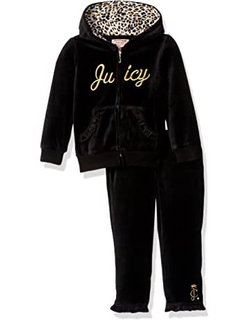 5339773f86ef5f Juicy Couture Two Piece Velour Jog Set