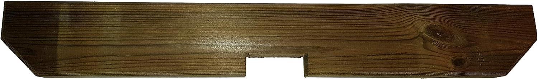 Pergola Jinete estándar, para sillín Barra 70 mm, tratada