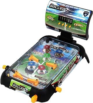 Juinsa- Pinball electrónico fútbol (83011.0): Amazon.es: Juguetes y juegos