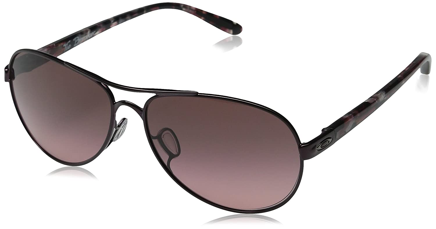37e9b15d2a4 Oakley TIE BREAKER Sunglasses (OO4108-01) Blackberry 56-13-135   Amazon.co.uk  Clothing