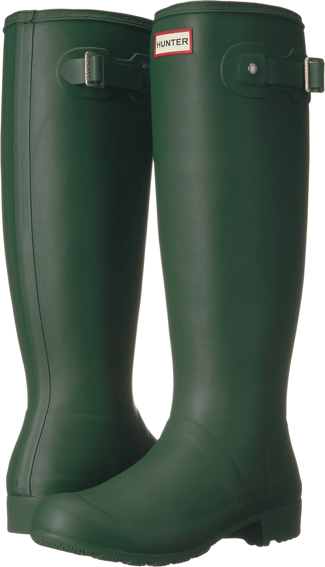 Hunter Original Tour Hunter Green Women's Rain Boots 9 M by Hunter (Image #1)