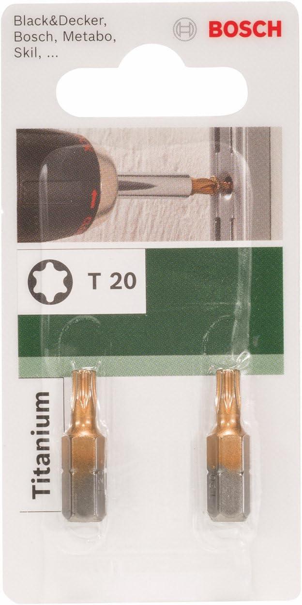 Bosch 2609255942 25mm Drill Bit T20 Titanium Quality