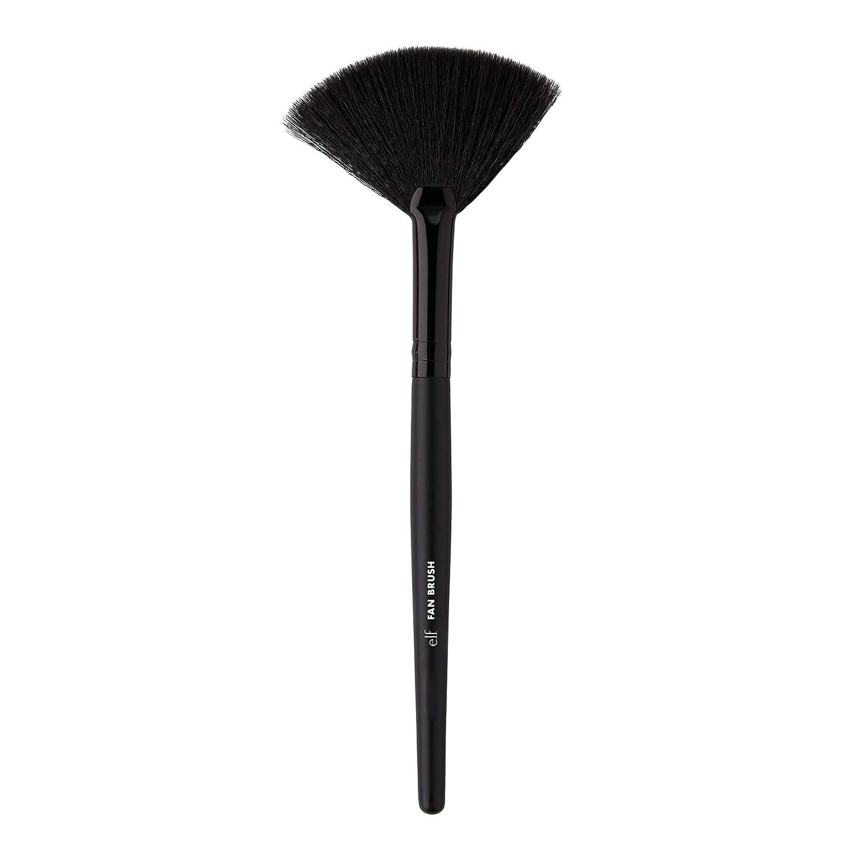 e.l.f. Fan Brush for Precision Application, Synthetic