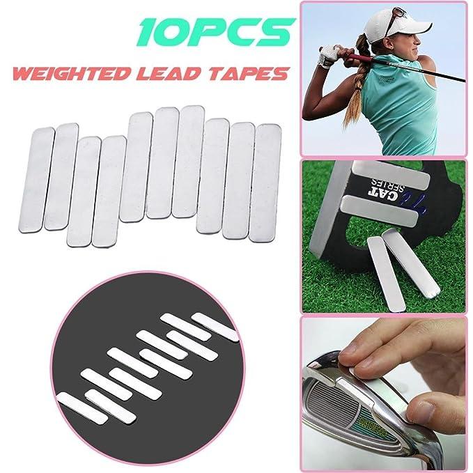 Amazon.com: Topaty - 10 tiras de cinta adhesiva de plomo ...