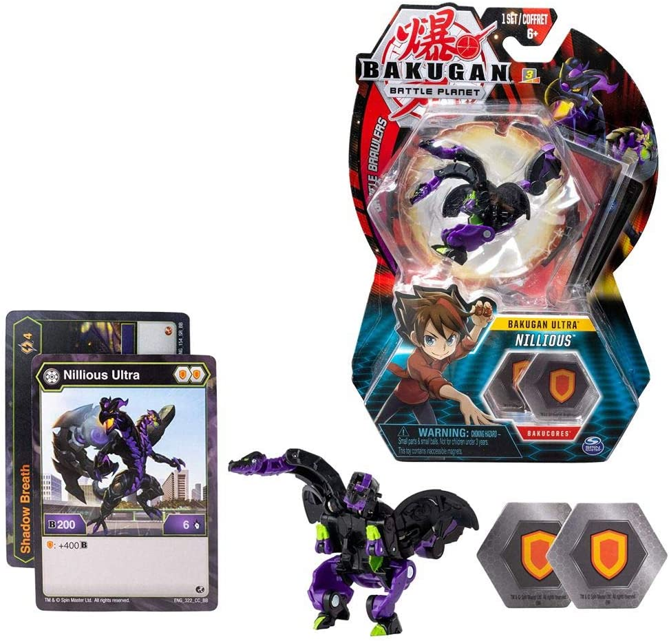 BAKUGAN Ultra Ball Selección Spinmaster | Battle Brawlers Playsets ...