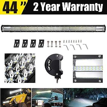 42inch 240W LED Work Light Bar Spot Flood Combo Offroad Pickup 4WD Truck Boat
