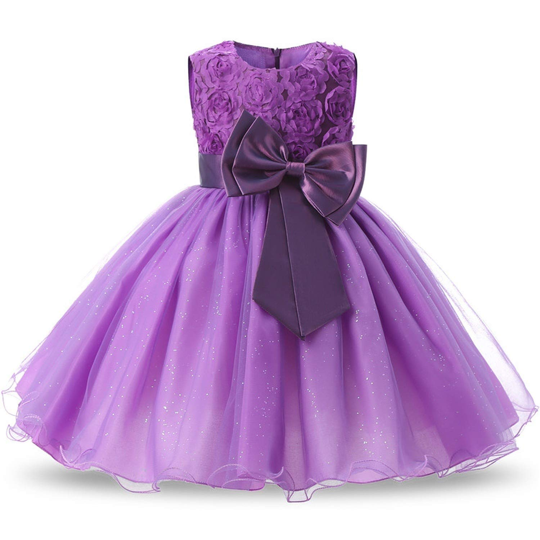 Princess Flower Girl Dress Summer Wedding Birthday Party Dresses for Girls Children's Costume Teenager Prom Designs,C5B,7 by Pumpkin-Kaariage children-dressers (Image #5)