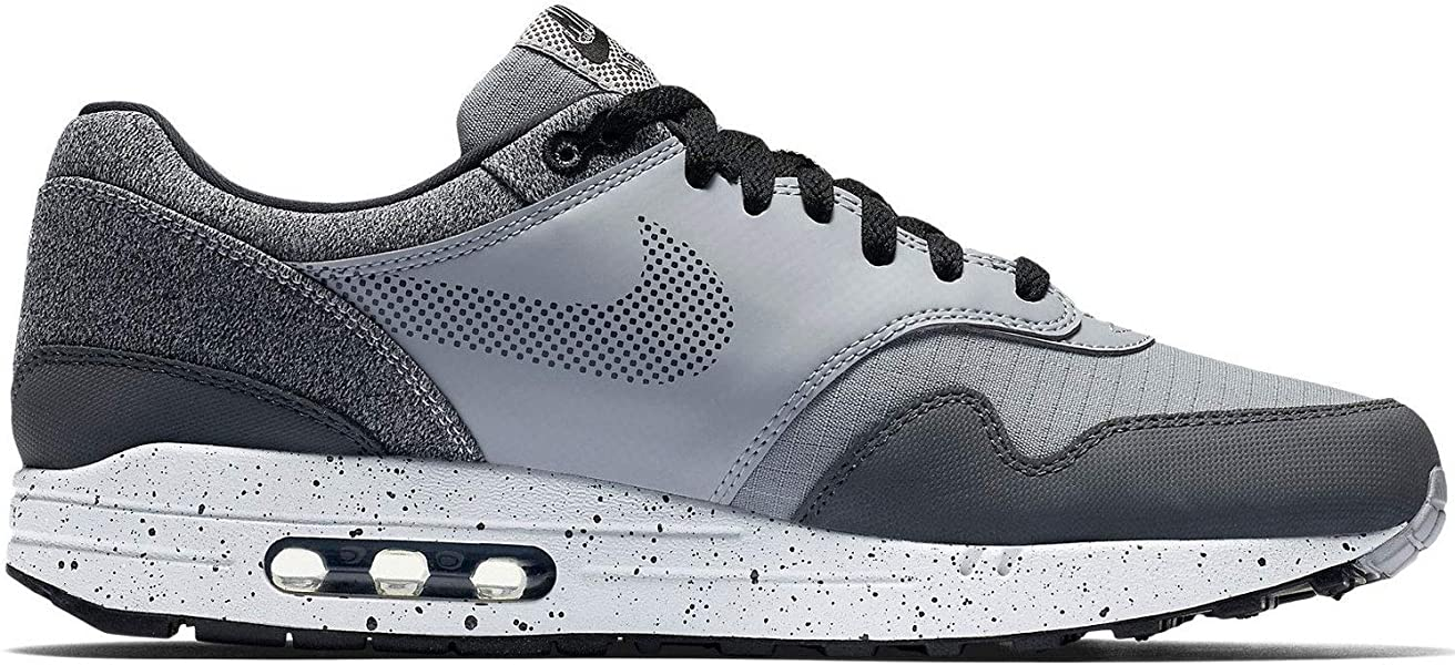 low priced b1eaa d67d1 Amazon.com   Nike Mens Air Max 1 SE Running Shoes Wolf Grey Anthracite Black  AO1021-002 Size 13   Road Running