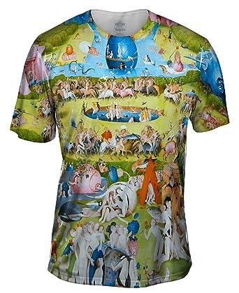 ac650f6f1b7c Amazon.com  Yizzam- Hieronymus Bosch The Garden of Earthly Delights 05 - TShirt- Mens Shirt  Clothing