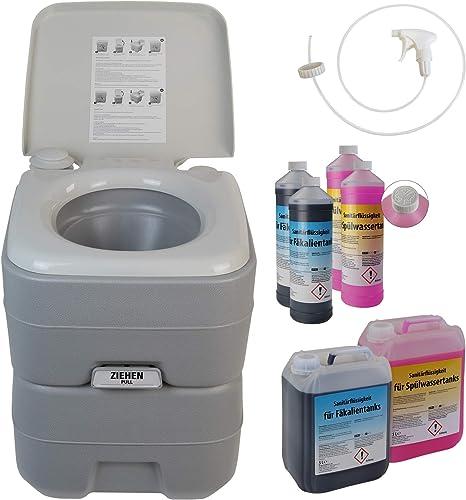 Bb Sport Toilette Portatile Wc Chimico 20l Opzionalmente