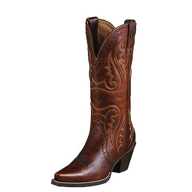 de0b9bde813e1 Ariat Women's Heritage Western X Toe Western Cowboy Boot