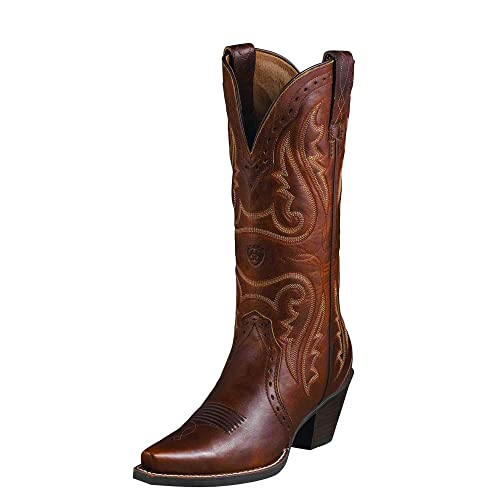 10d1fdf1660 Ariat Women's Heritage Western X Toe Western Cowboy Boot