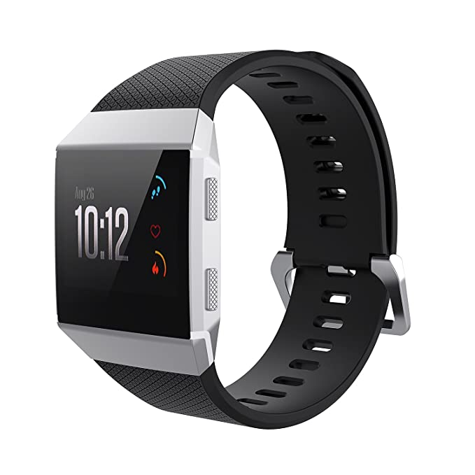Amazon.com: Smartwatch Bands for Fitbit Ionic, Soft TPU ...