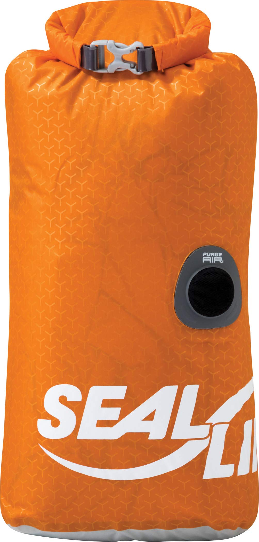 SealLine Blocker PurgeAir Dry Sack Waterproof Stuff Sack, Orange, 20-Liter by SealLine