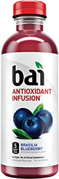 6-Pk Bai Flavored Water Antioxidant Infused Drinks