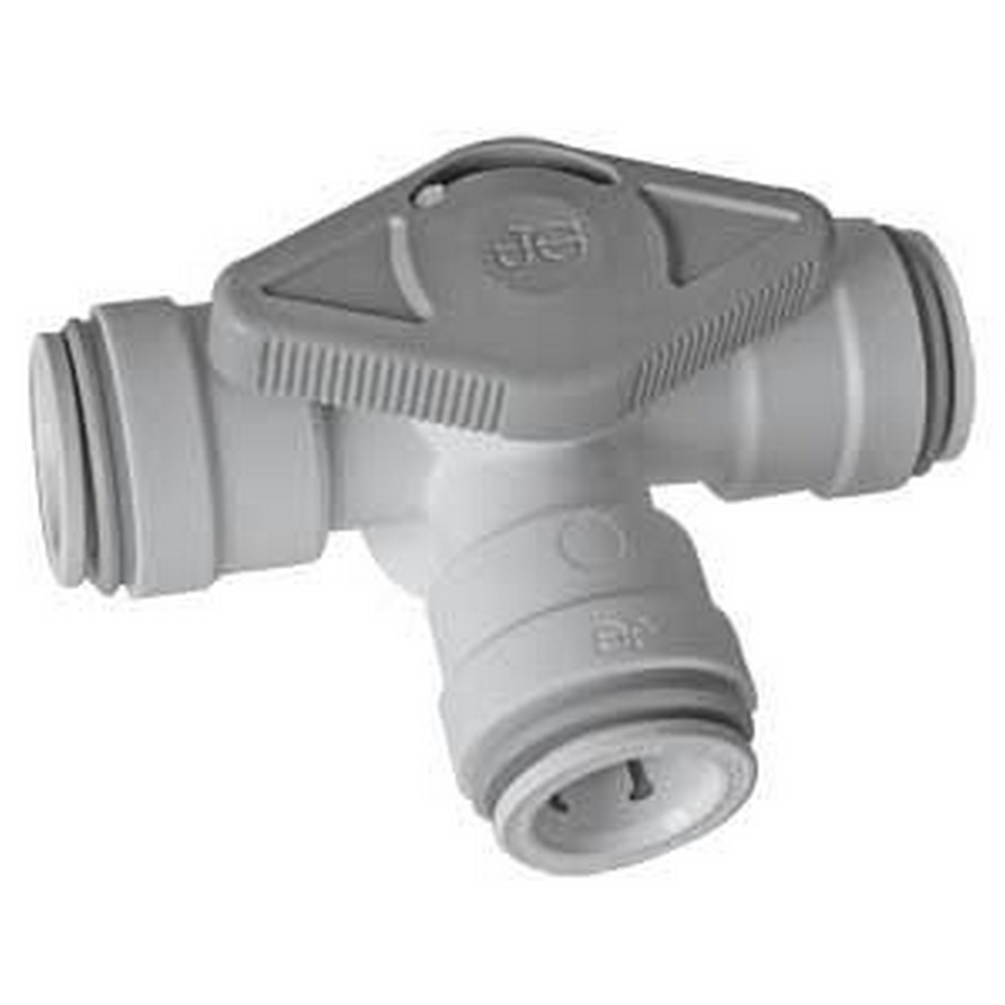 John Guest Three Way Bypass Valve (One Size) (White)