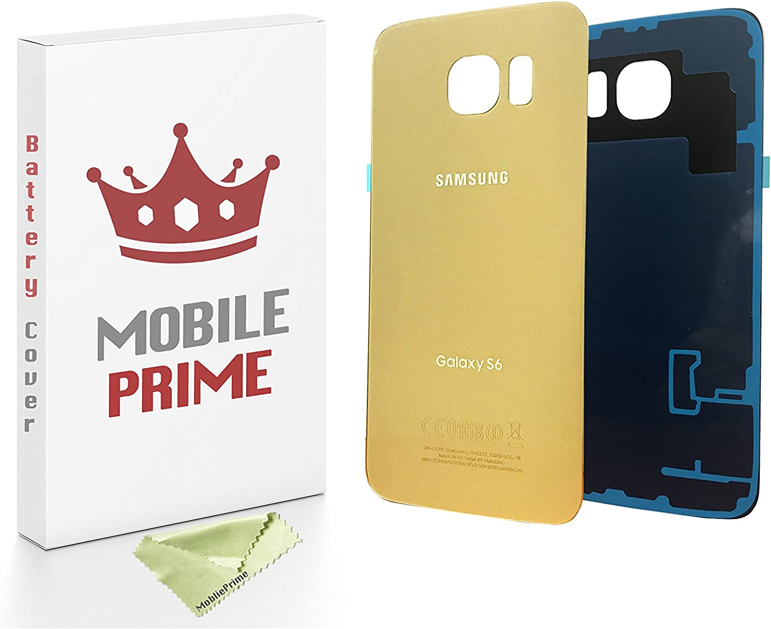 MobilePrime Gold Replacement Rear Back Cover Compatible for Samsung Galaxy S5
