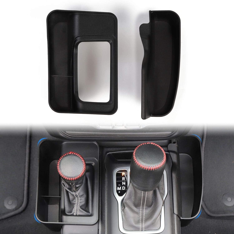 JeCar for Jeep Phone Mount Drink Cup Holder Passenger Grab Handle Storage Tray Organizer for 2018-2020 Jeep Wrangler JL JT Gladiator