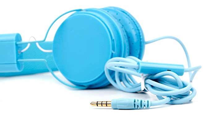 DURAGADGET Auriculares De Diadema Color Azul Compatible con ...