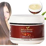 Masque Cheveux d'Huile d'Argan -250ml - Après-Shampoing - 100% Huile de Jojoba & Kératine, Répare les Cheveux Secs, Abîmés ou Colorés, Adapté à Tous Types de Cheveux - Sans Sulfates