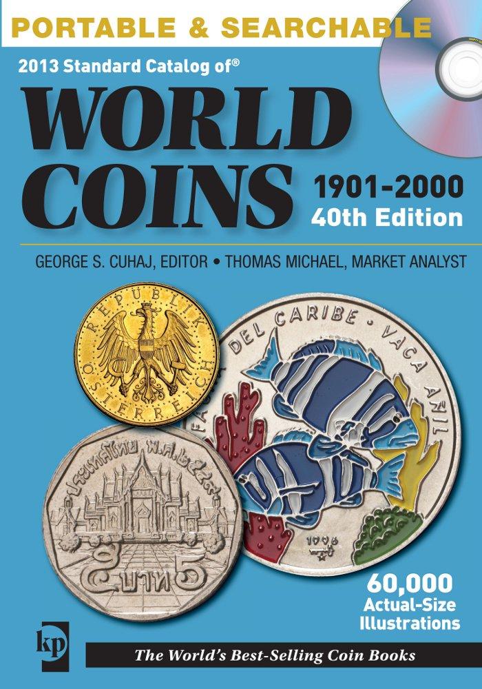 2013 Standard Catalog of World Coins 1901-2000 CD ePub fb2 ebook
