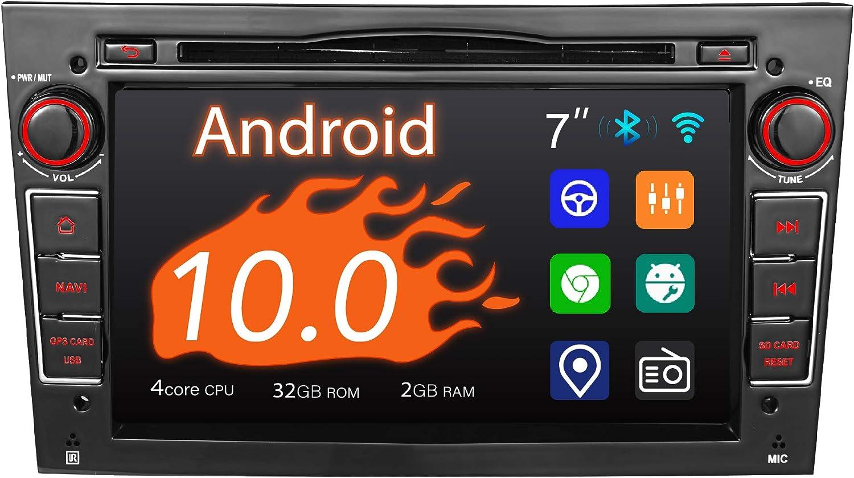 Amaseaudio Autoradio 2 Din Für Opel Corsa Astra Vectra Zafira Antara Meriva Vivaro 7 Touchscreen Dsp Unterstützung Android Auto Apply Carplay Gps Navigation Navigation