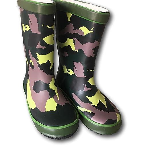 Jiglz - Botas para niño Multicolor camouflage ASMDHbX