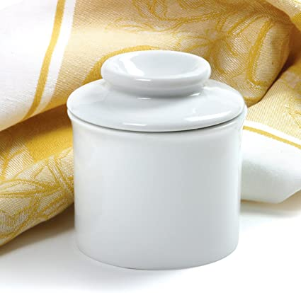 Norpro Porcelain Butter Keeper White 291A