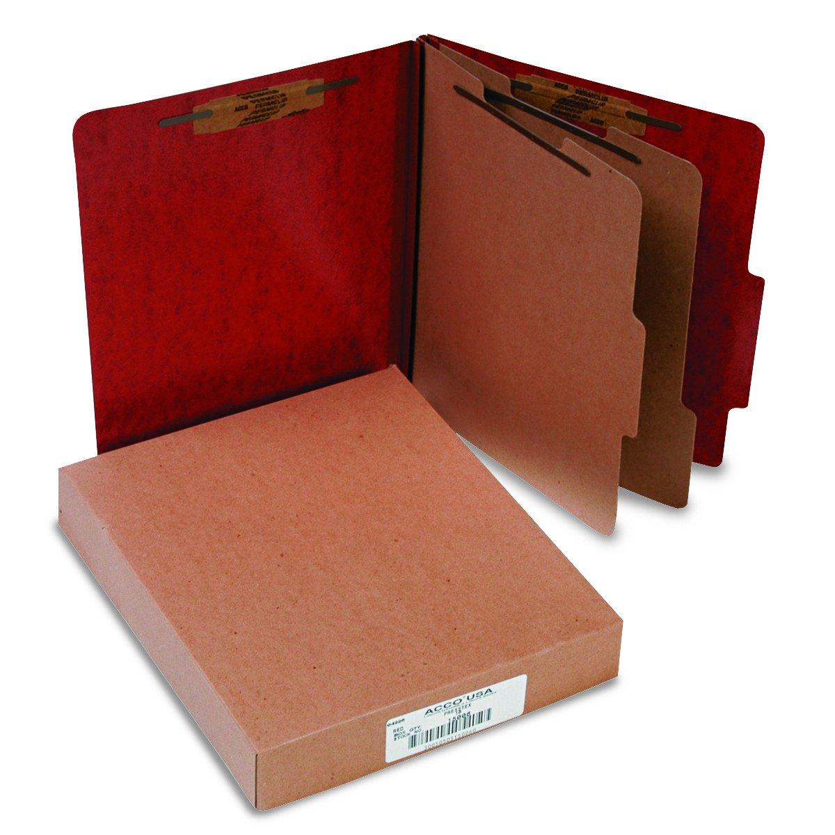 Acco ACCO Presstex Classification Folders (ACC15006) by ACCO