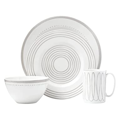 Kate Spade New York 867951 Charlotte Street West Grey 4 Piece Place Setting