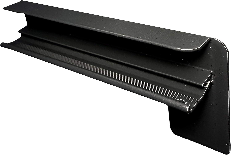 500 mm, anthrazit Auslage 50 mm Aluminium Endkappen f/ür Putz bis 2m Zuschnitt auf Ma/ß Set inkl Alu Fensterbank anthrazit