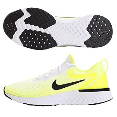 8371a21d4e22 Nike Odyssey React - Men s White Black Volt Bright Crimson Nylon Running  Shoes