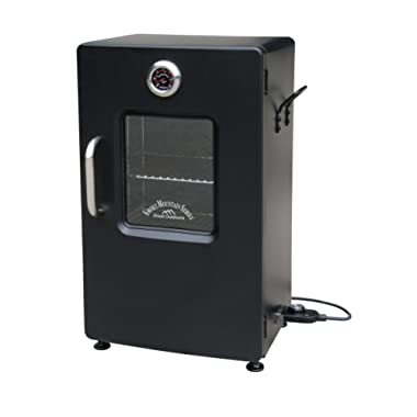 LANDMANN MCO 32954 Landmann Smoky Mountain 26  Electric Smoker-Black-OPP w/Viewing W