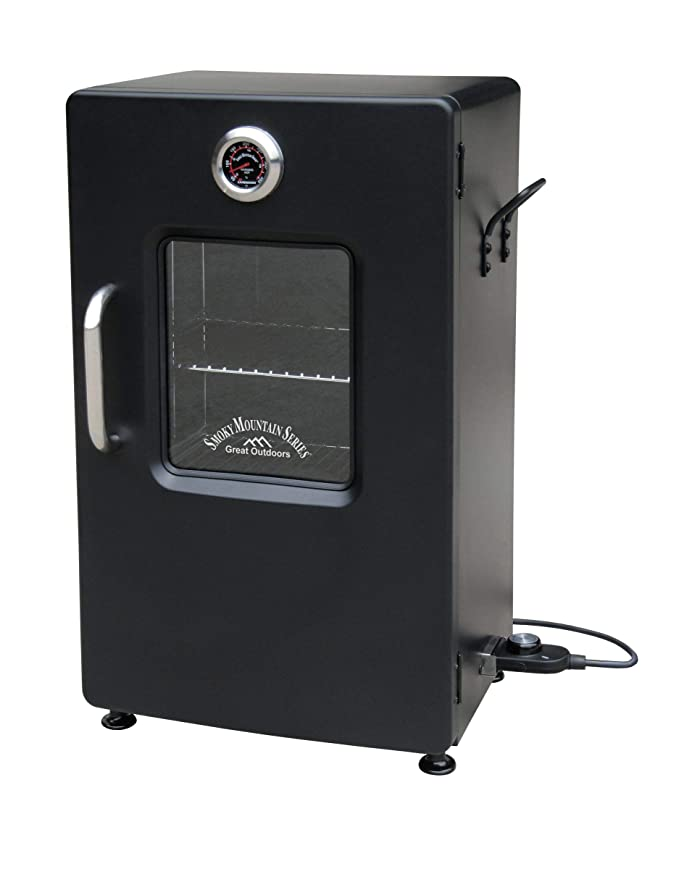 "LANDMANN MCO 32954 Smoky Mountain 26"" Electric Smoker – The Smoker with a 3-In-1 Combination Tray"