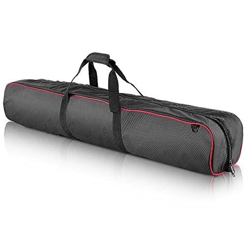 """Neewer® 35""""x7""""x8""""/90x18x20cm Padded Carrying Bag with Strap for Manfrotto,Sirui,Vanguard,Ravelli and Dolica Series Stands and Other Universal Light Stands, Boom Stand and Tripod(YKK Zipper)"""
