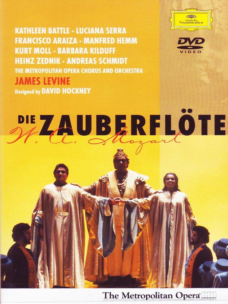 Amazon Mozart Die Zauberflöte The Magic Flute Kathleen Battle Francisco Araiza Manfred Hemm Kurt Moll Luciana Serra Barbara Kilduff
