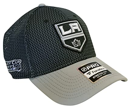 size 40 385c0 894fd Football Fanatics Los Angeles Kings Authentic Pro NHL 2018 Stanley Cup  Playoffs Flex Hat (S