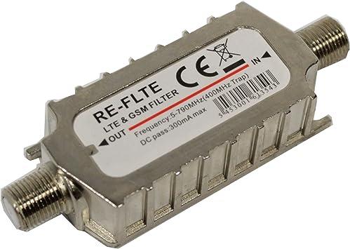 Cablematic PN02031515063065114 - Filtro para Antena TV DVBT TDT para telefonía móvil LTE gsm 4G