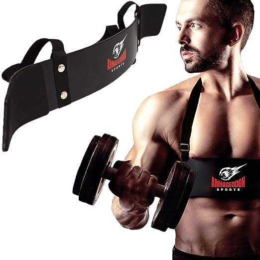 Biceps Aislador Blaster Bomber Levantamiento de Pesas Arm Curl: Amazon.es: Deportes y aire libre
