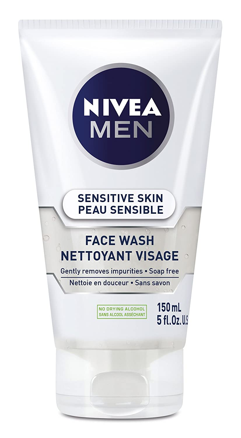 NIVEA MEN Sensitive Skin Face Wash, 150 mL 056594888173