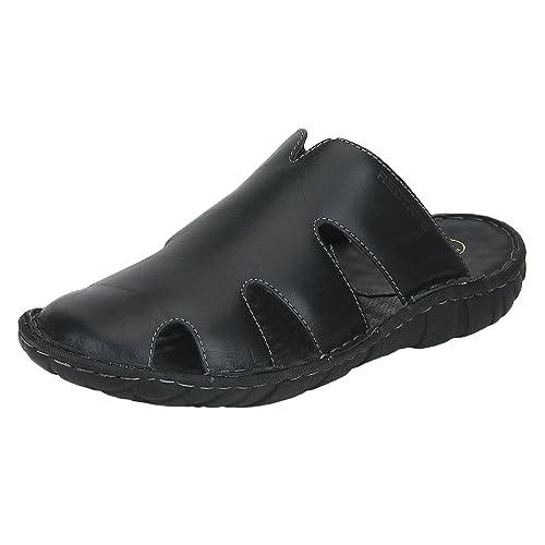 a0c145fcb709 Red Tape Men s Black Sandals - 7 UK India (41 EU)(RSS2231-7)  Buy ...